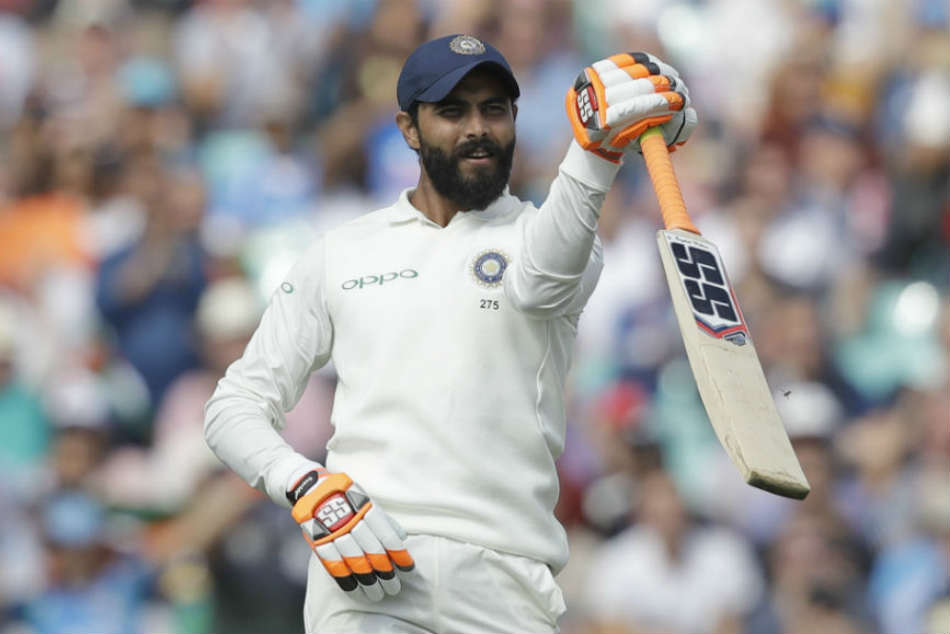 Ravindra Jadeja Entertains Home Crowd With Maiden International Hundred