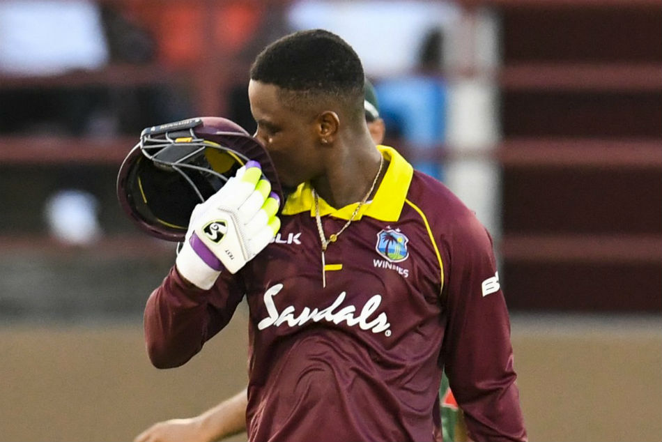 India Vs West Indies 1st Odi Hetmyer S Blistering Ton Propels Tourists To