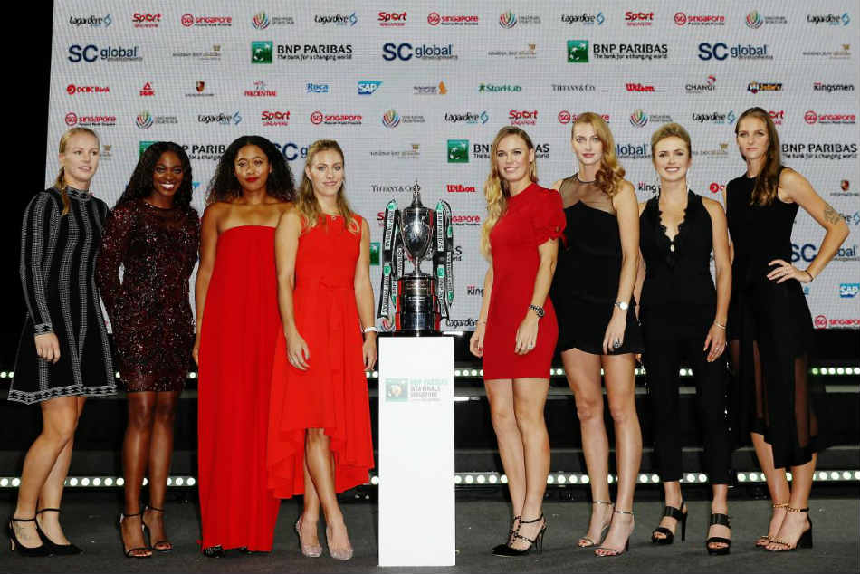 Watch: WTA stars shine at the Iconic Photo Shoot in Singapore