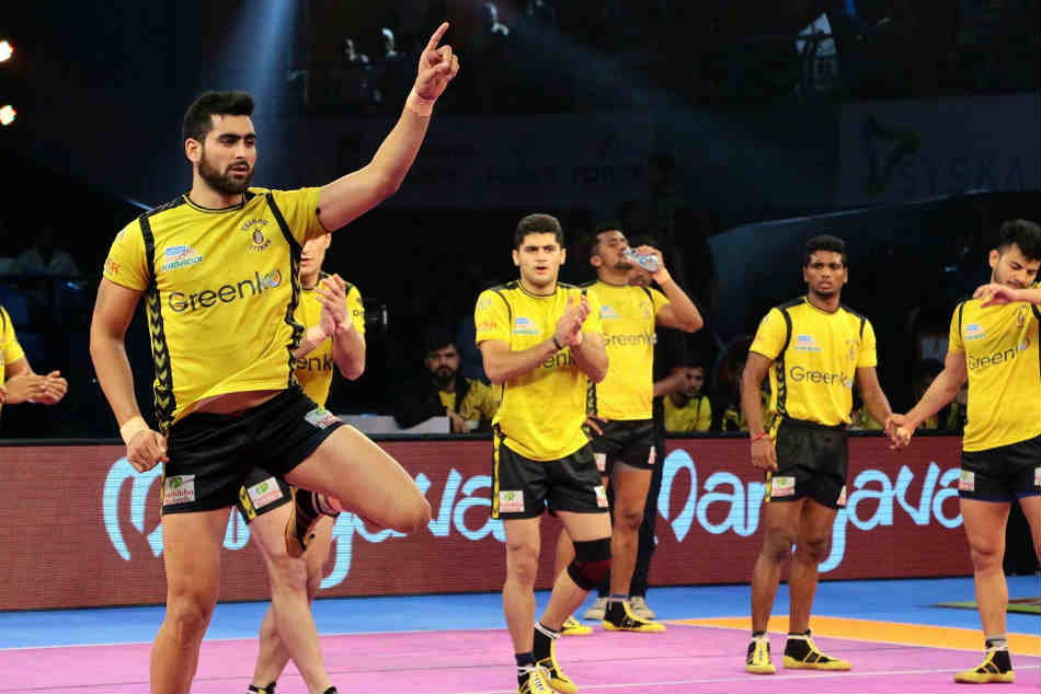 Tamil Thalaivas Vs Telugu Titans Match 6 9th October
