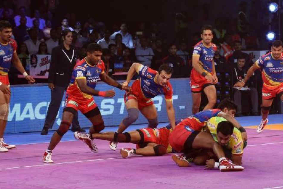 Pro Kabaddi League Pkl 6 Up Yoddha Beat Dabang Delhi 38