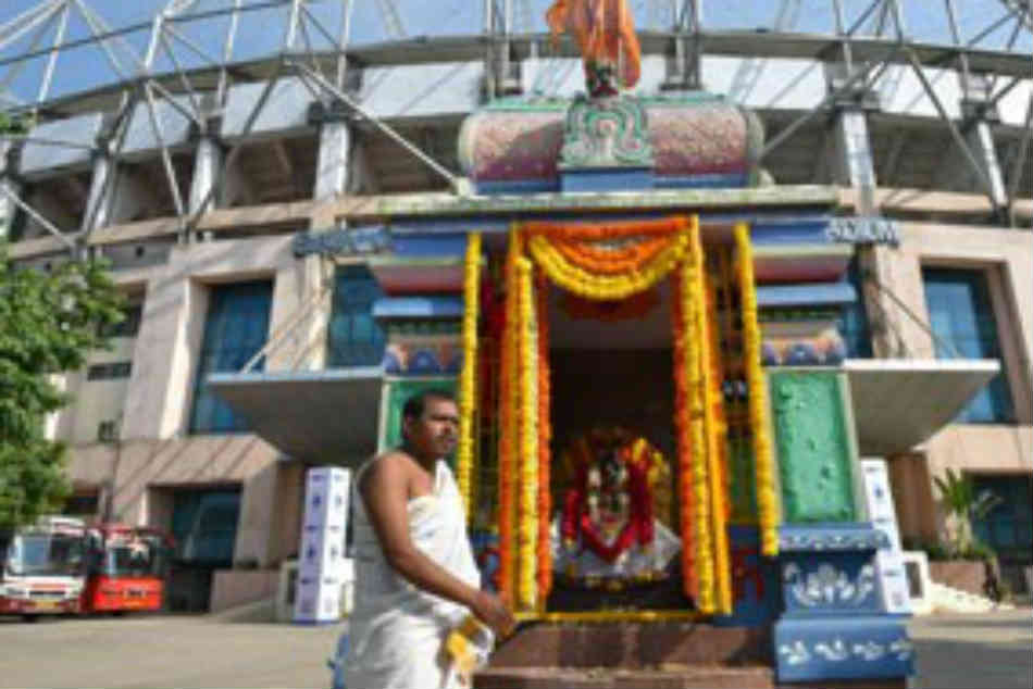 Leap Faith The Temple Inside Uppal Stadium That Changed Team India