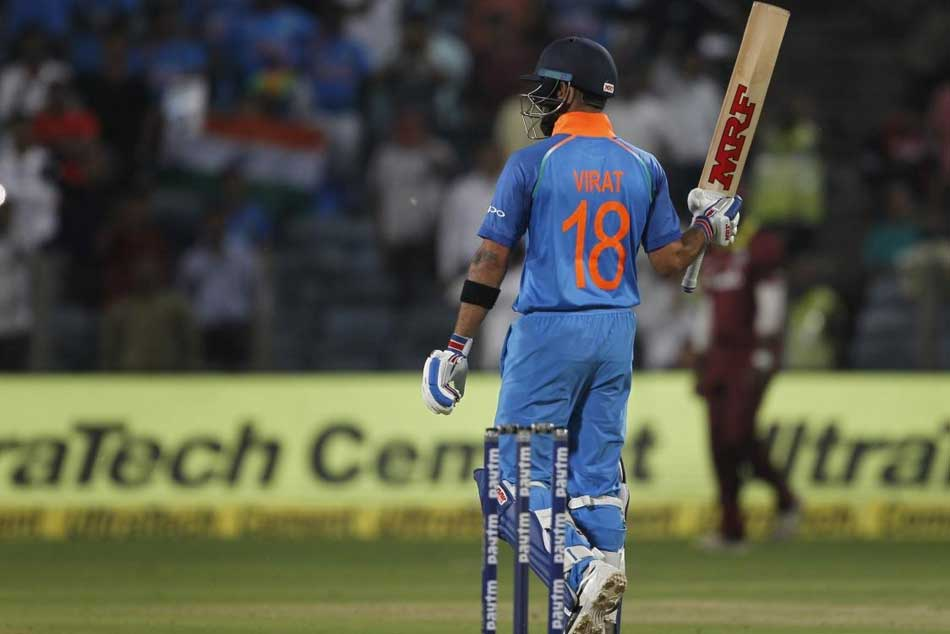 India vs West Indies: Virat Kohli 1st Indian to slam 3 successive ODI hundreds
