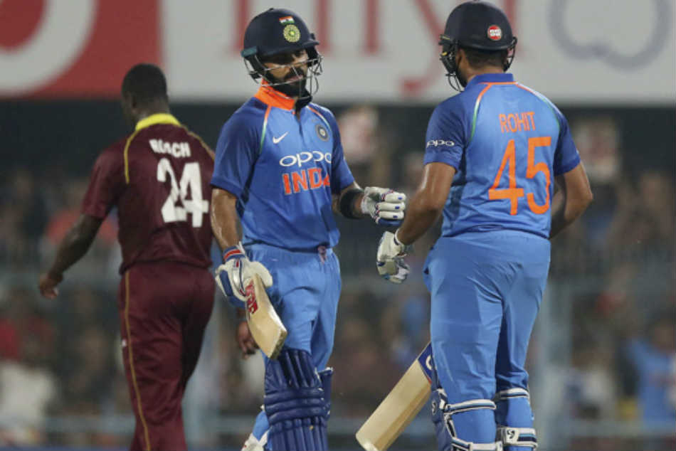 India Vs West Indies 1st Odi Guwahati India Win 8 Wickets Take 1 0 Lead