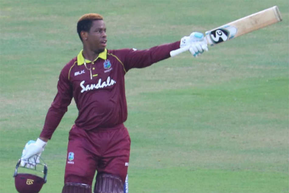 India Vs West Indies 1st Odi Windies Crumble After Shimron