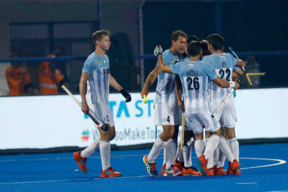 Mens Hockey World Cup 2018: Argentina beat Spain 4-3 in a goalfest
