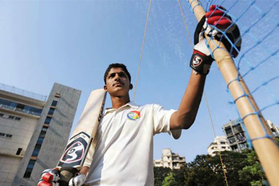 Ck Nayudu Trophy Mumbai S Armaan Jaffer Hits Unbeaten 300 Against Saurashtra