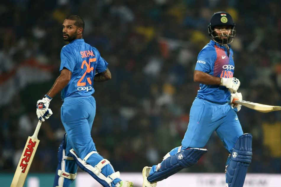 Dhawan, Pant erase worry lines before flight to Australia