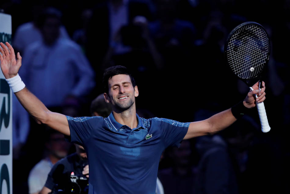 Five Events Four Titles Two Slam Triumphs Djokovic S Glorious Charge To 1