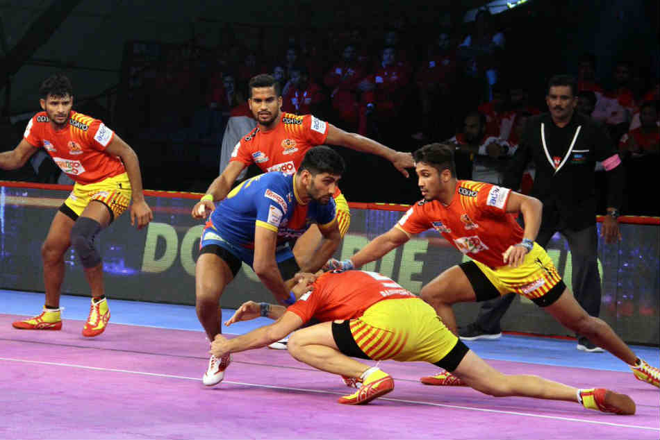 Pro Kabaddi League Bengaluru Bulls Beat Jaipur Pink Panthers