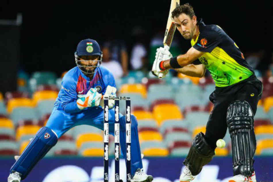 India Vs Australia Live Score 1st T20i Glenn Maxwell Chris Lynn Take Australia