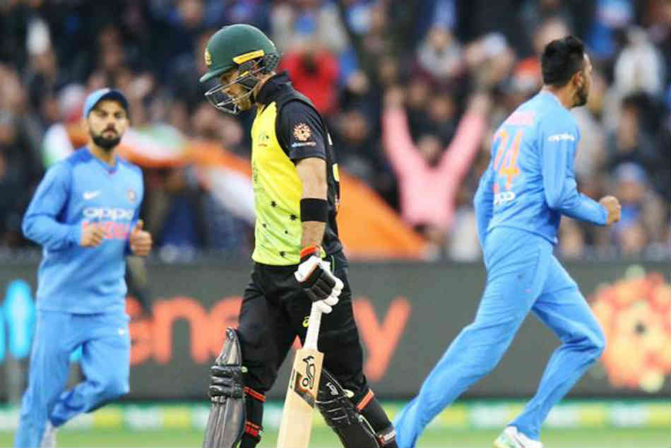 India vs Australia 2nd T20I Live Score: Glenn Maxwell dismissed by Krunal Pandya