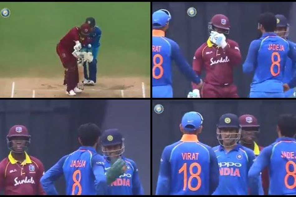 Watch Jadeja Convinces Dhoni Kohli Take Drs Gets It Right