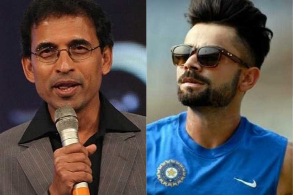 Harsha Bhogle criticized virat kohli over his reaction to a fan Leave India Comments