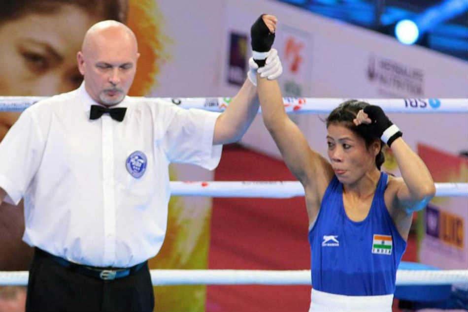 Women S World Boxing Championships Mary Kom Manisha Maun Enter Quarters