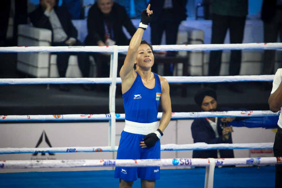 World Boxing Championships Mary Kom Storms Into Finals With Unanimous Win Over Kim Hyang