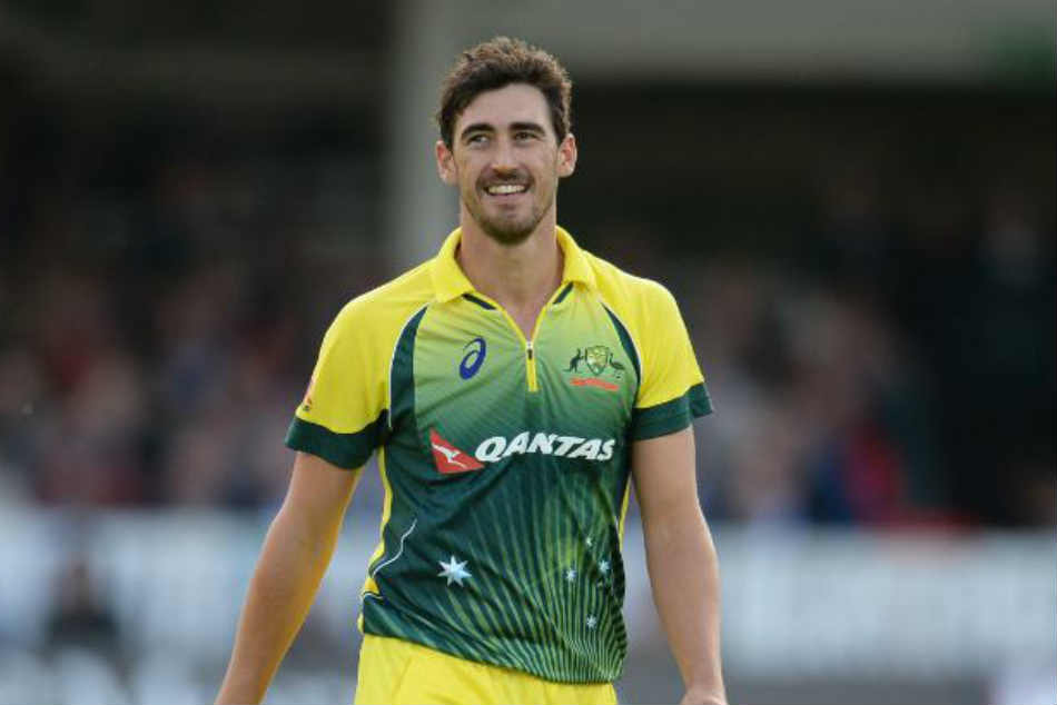 India Vs Australia Mitchell Starc Replaces Injured Billy Stanlake For 3rd T20i