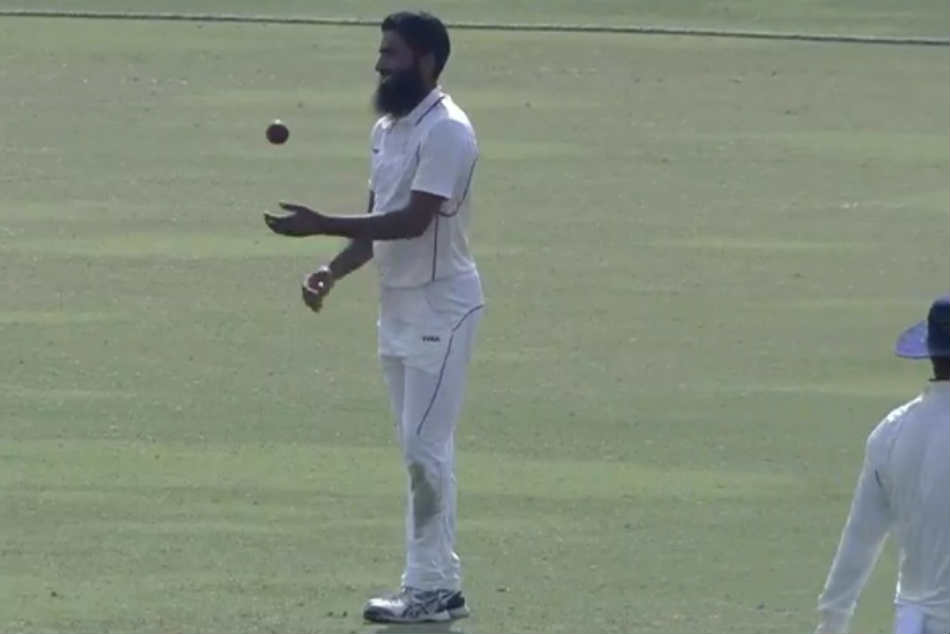 Mohammed Mudhasir becomes 2nd player in Ranji Trophy history to take 4 wickets in 4 balls