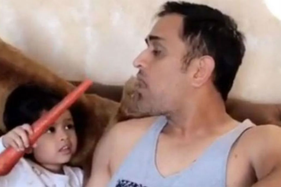 Ms Dhoni Is Ziva S Bugs Bunny Adorable Video
