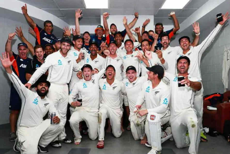 Watch New Zealand Cricketers Celebrate Dramatic Win Over Pakistan