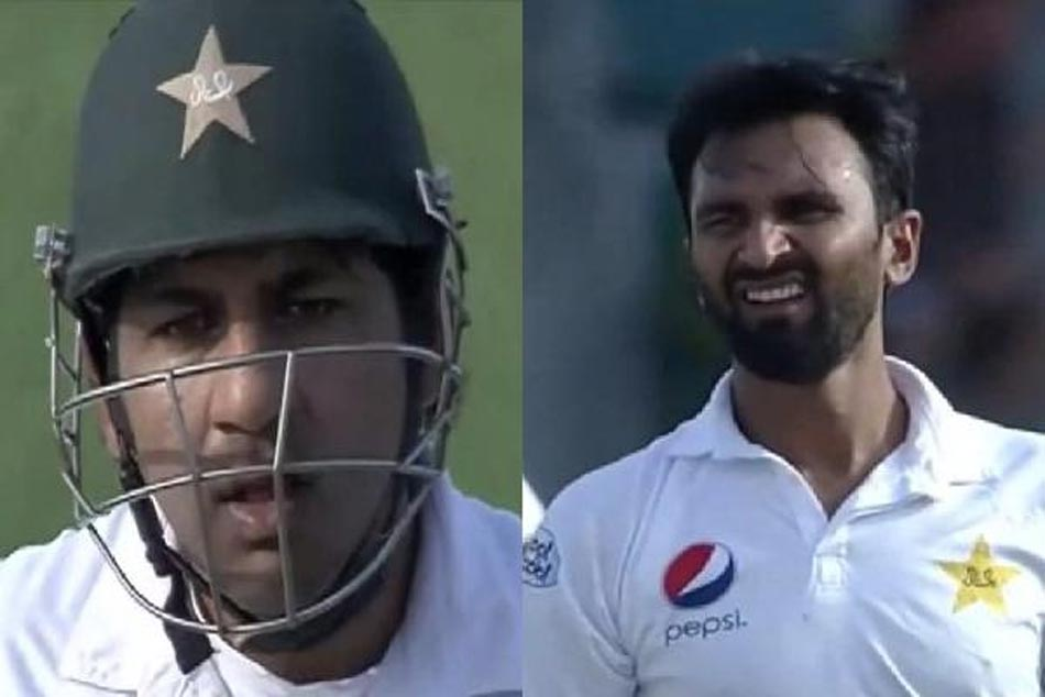Pakistan Vs New Zealand Sarfraz Ahmed Gives An Earful Bilal Asif For Bowling A Poor Delivery
