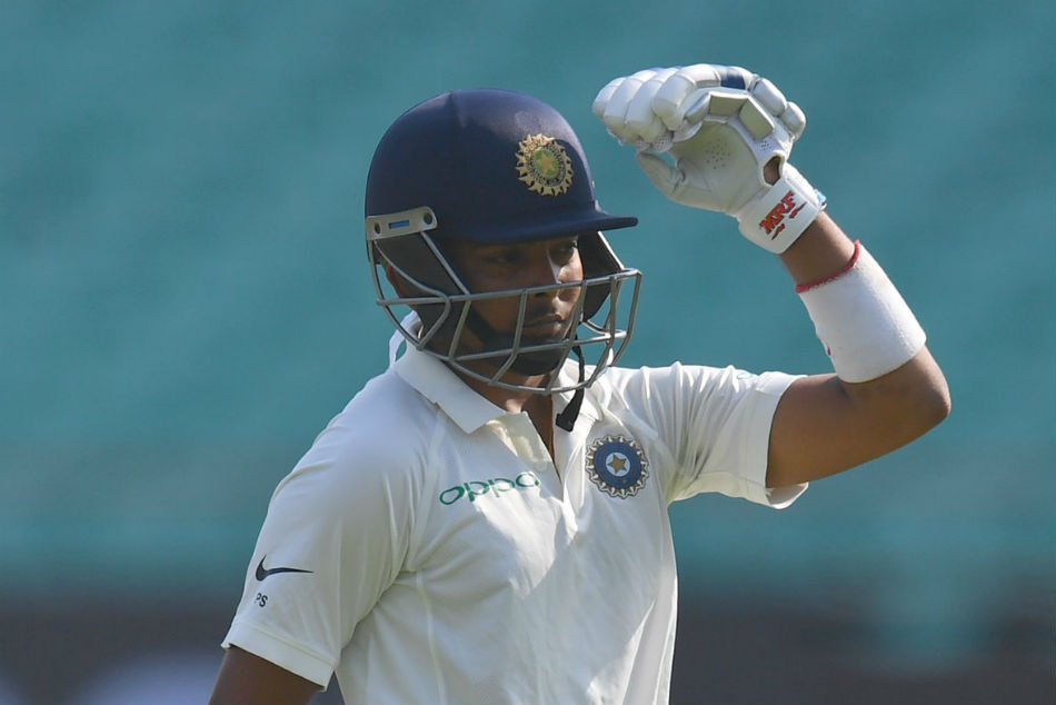 st Unofficial Test Prithvi Shaw Shines Vijay Rahane Disappoint Against New Zealand