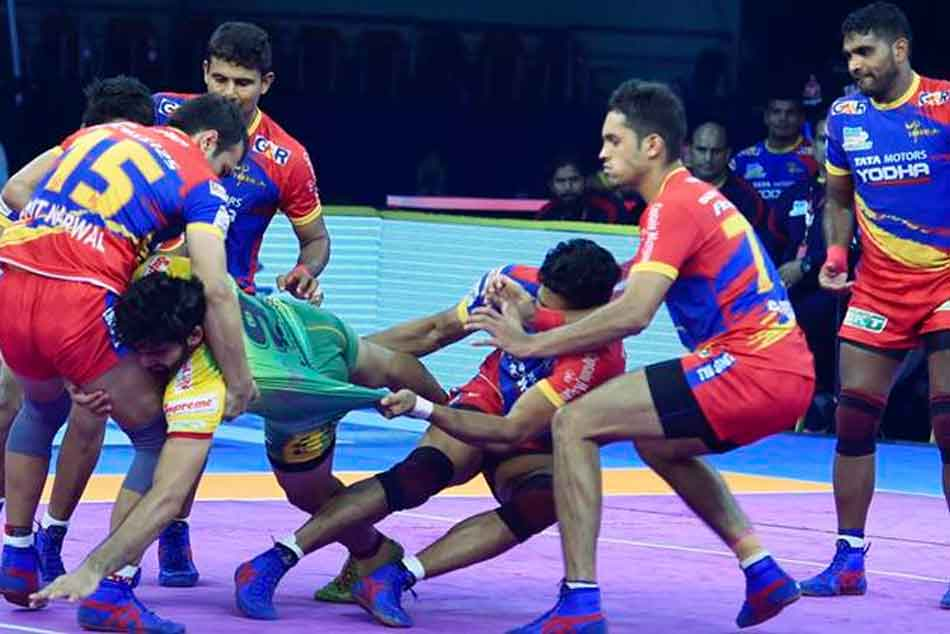 Pro Kabaddi 2018 Up Yoddha Vs Bengaluru Bulls
