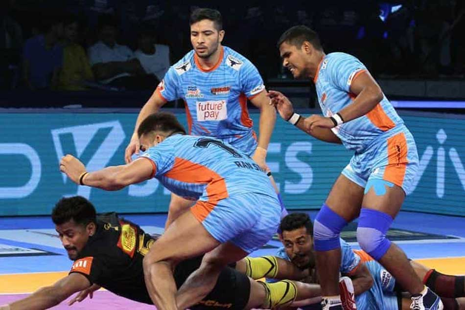 Pro Kabaddi 2018 Bengal Warriors Beat Telugu Titans 30