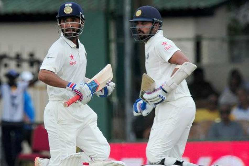 Nz Vs Ind 1st Unofficial Test Vijay Rahane Among Runs As Match Ends In Draw