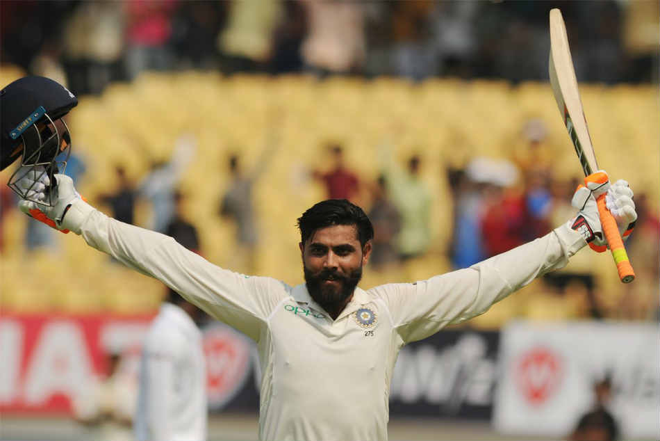 Ranji Trophy 2018 Ravindra Jadeja Hits Ton As Saurashtra Take Lead