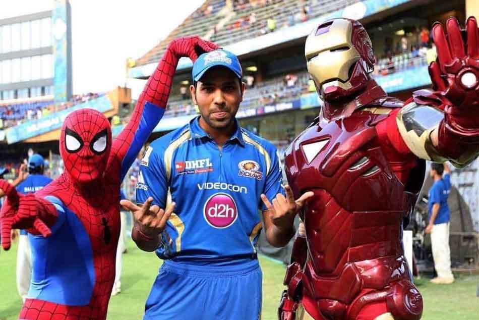 Rohit Sharma Mumbai Indians Pay Tribute Marvel Stalwart Stan Lee