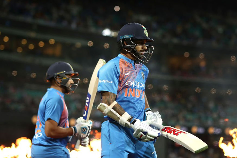 Shikhar Dhawan, Rohit Sharma Take India To Steady Start