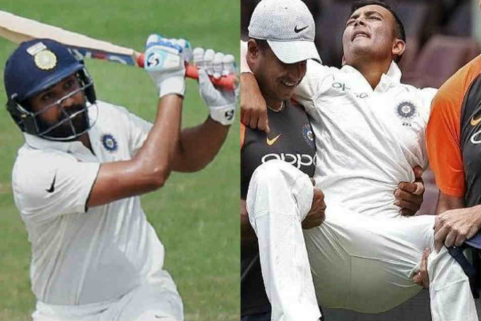 Rohit Sharma Should Open India Vs Australia 1st Test Twitterati Reacts To Prithvi Shaw Ankle Injury