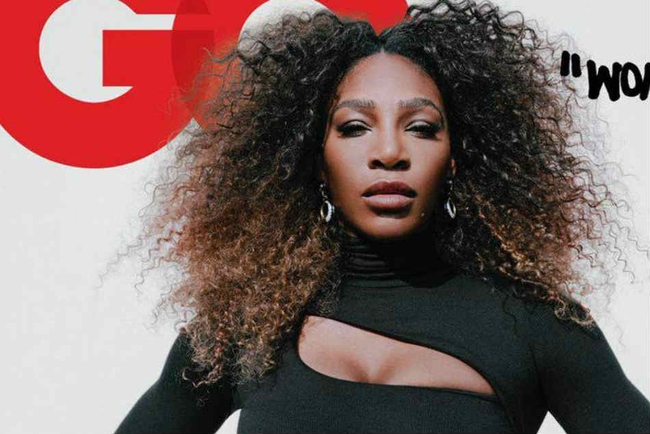 Gq Cover With Serena Williams As Woman The Year Sparks Controversy Over Use Of Quotation