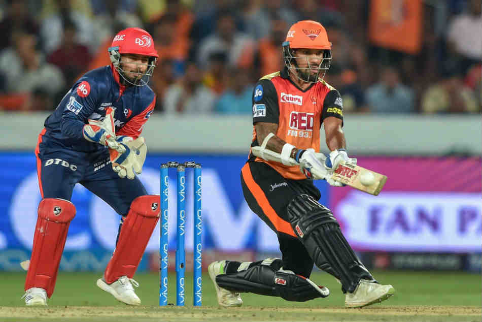We have traded Dhawan to DD for Vijay Shankar, Shahbaz Nadeem and Abhishek Sharma: SRH