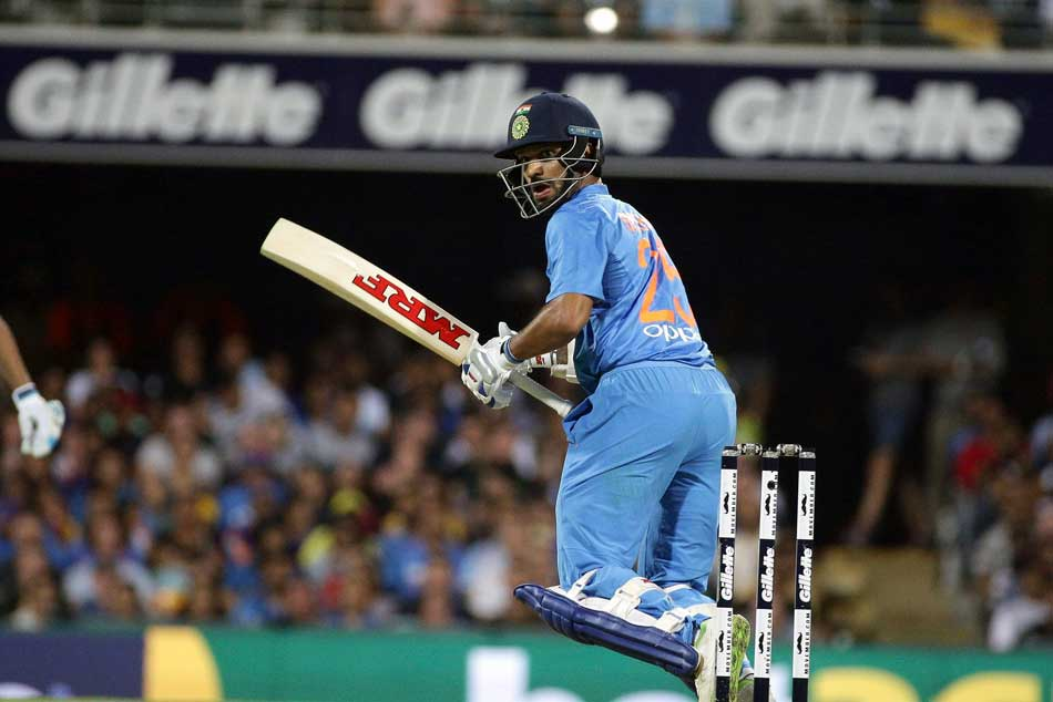 India Vs Australia Live Score 1st T20i Shikhar Dhawan Departs After A Quickfire Fifty