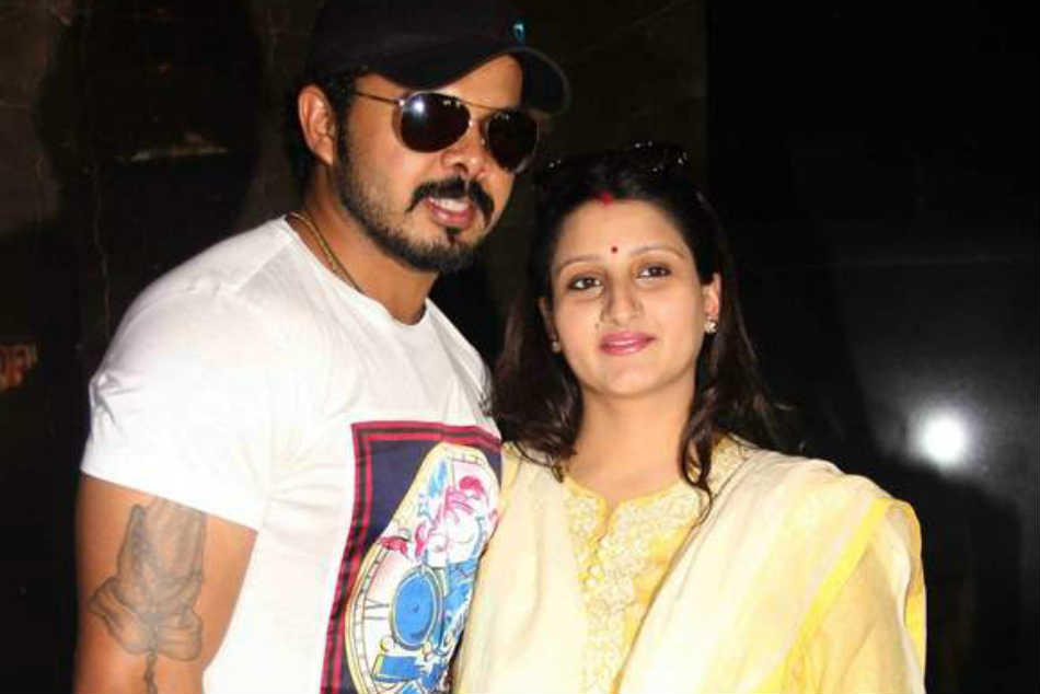 Sreesanth S Wife Writes Letter Bcci Says False Accusation Can Ruin A Person