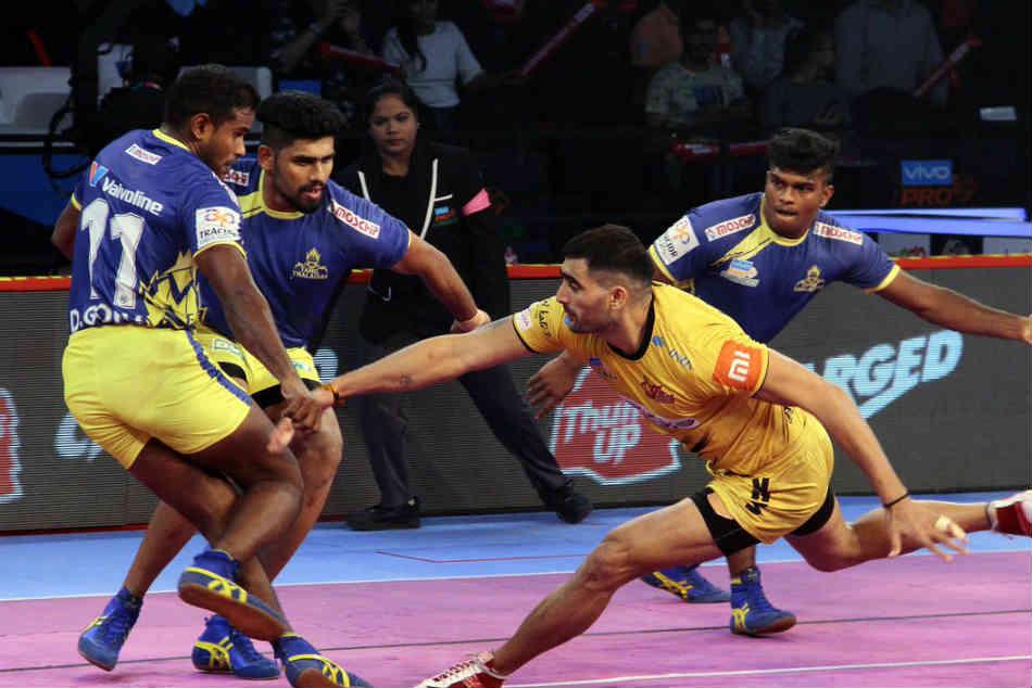 Tamil Thalaivas Defeat Telugu Titans First Time Pkl