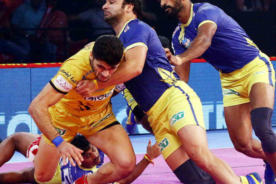 Pro Kabaddi League 2018 Tamil Thalaivas Beat Telugu Titans 31