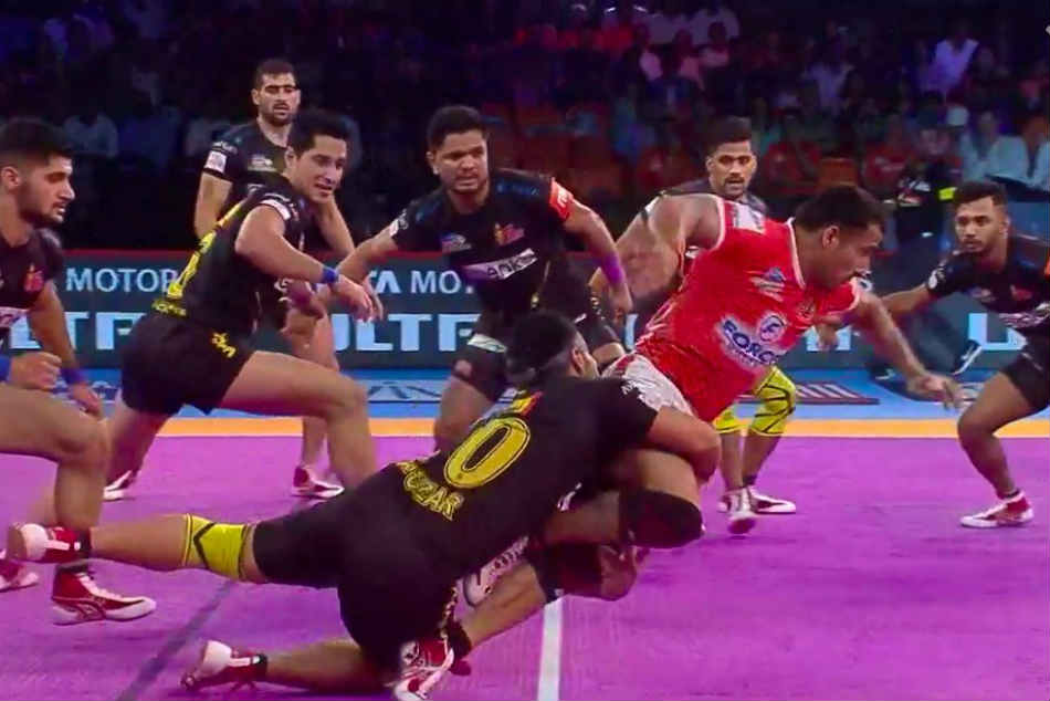 Pro Kabaddi League 2018 Telugu Titans Notch Comfortable Win Over Puneri Paltan