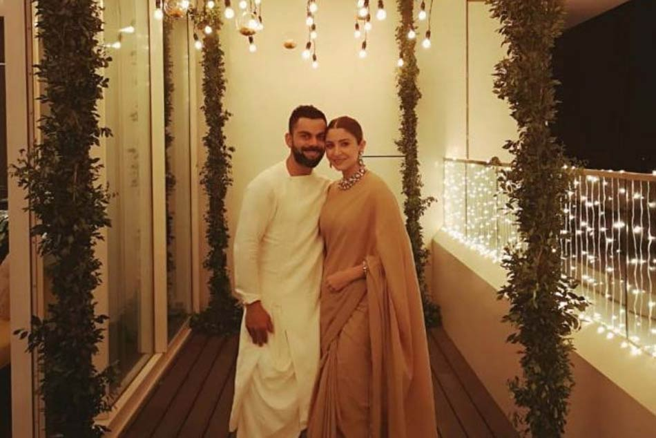 Virat Kohli Anushka Sharma Wish Fans Happy Prosperous Diwali
