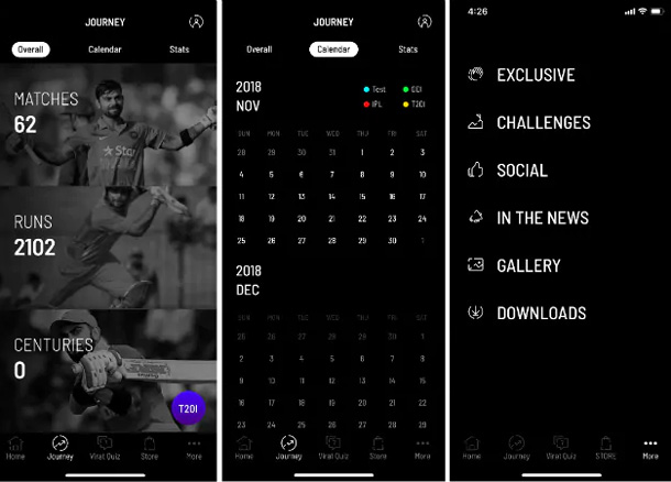 Virat Kohli Official App Launched Android Ios On His Birthday