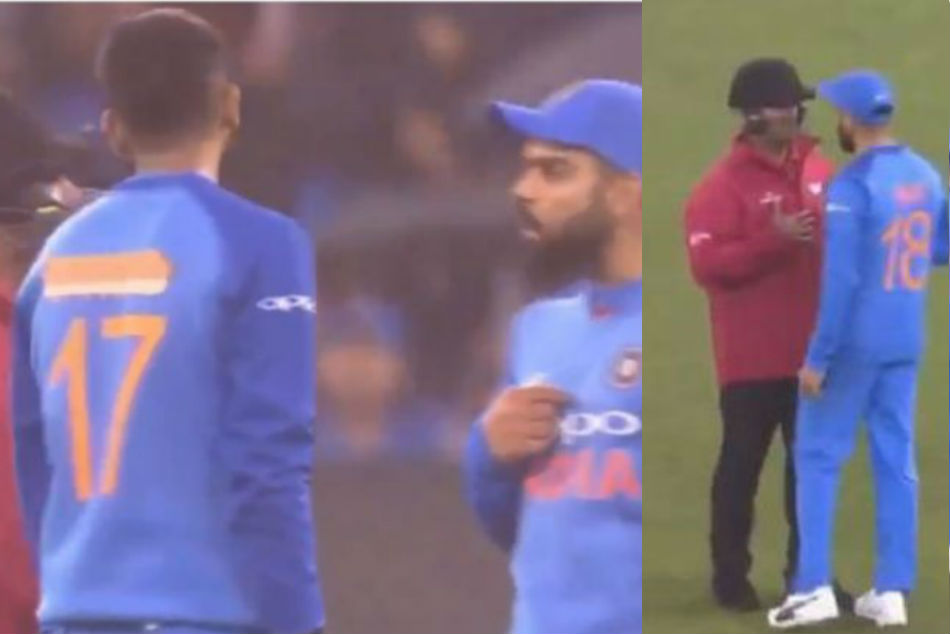 Watch Virat Kohli Gets Into Argument With Umpires Over Continutity Of Game