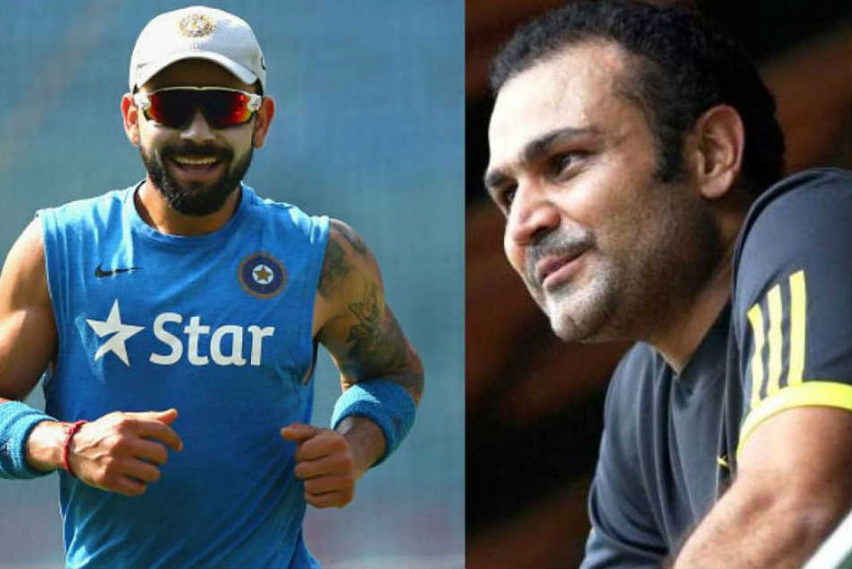 Virender Sehwag backs Virat Kohli to break all batting records except this Sachin Tendulkar milestone