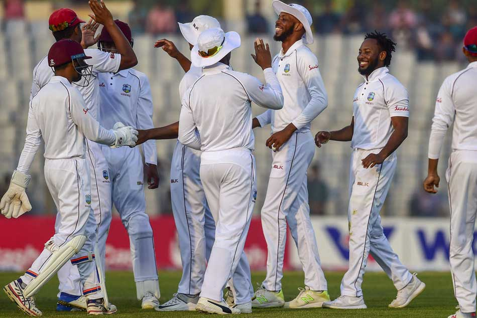 st Test West Indies Hit Back After Bangladesh Teen Sets Record