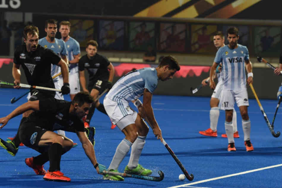 Hockey World Cup 2018 Highlights: Argentina 3-0 New Zealand