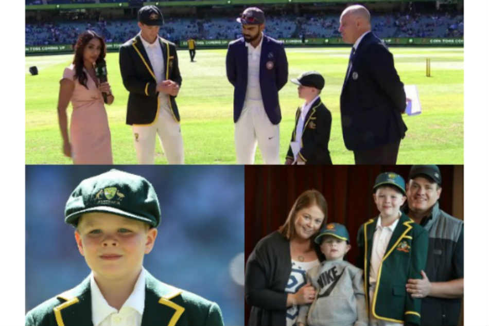 Seven Year Old Kid Made Honorary Co Captain Australia Boxing Day Test Against India