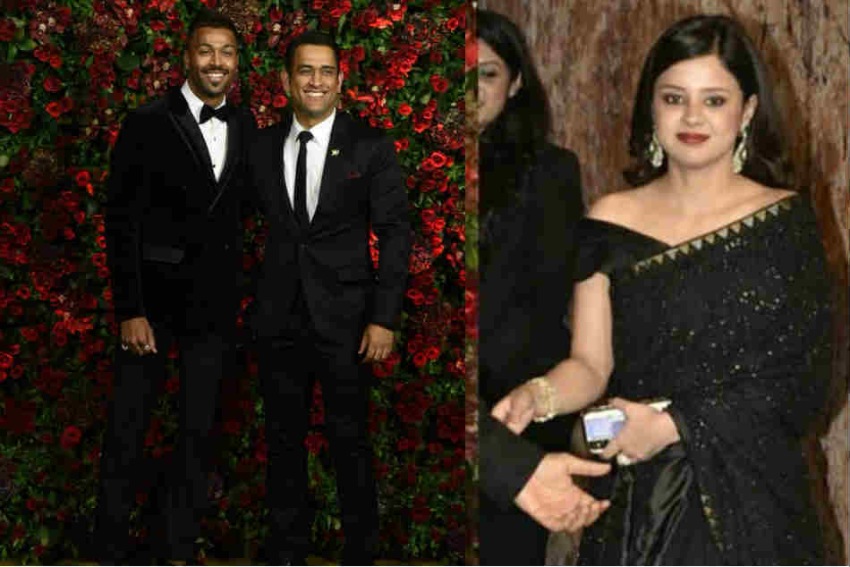 Ranveer, Deepika reception: MS Dhoni unleashed funny side as wife Sakshi moves out of frame - WATCH