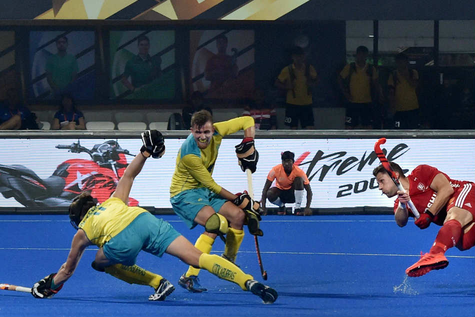 Hockey World Cup 2018 Defending Champions Australia Comfortable Beat England