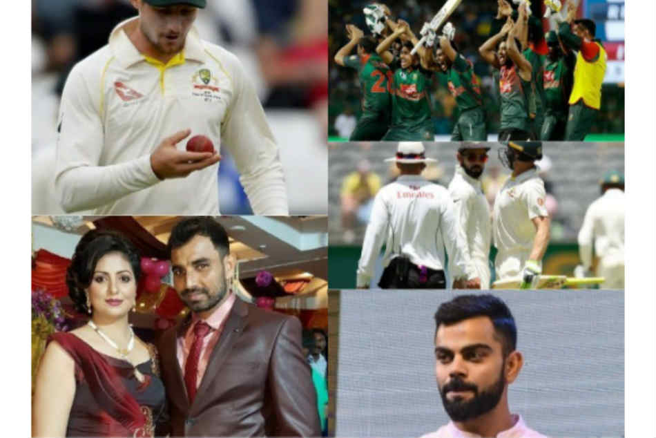 Year Ender 2018 Controversies That Shaken The World Cricket Virat Kohli And Tampering